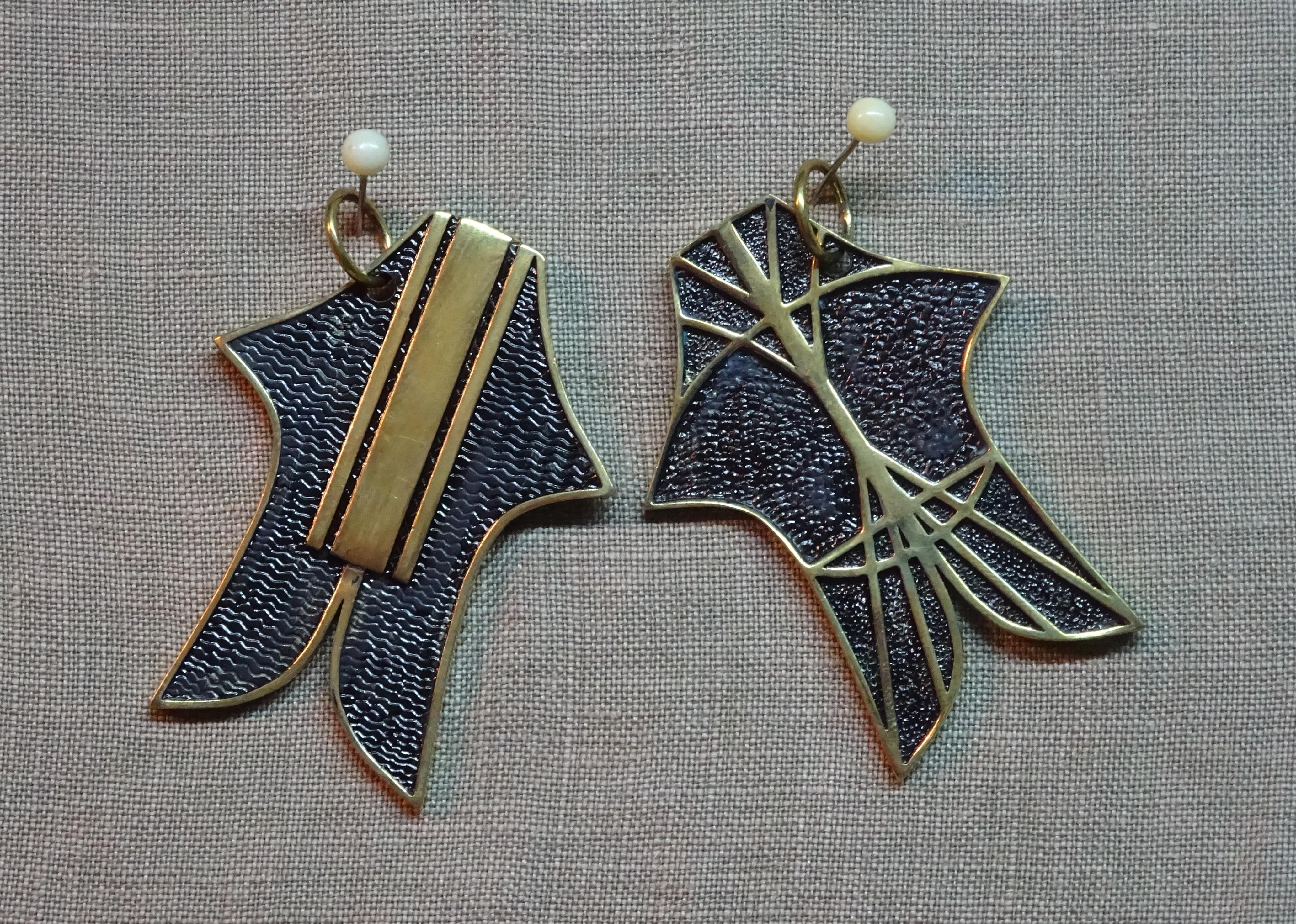 Bebean pendant (bronze)
