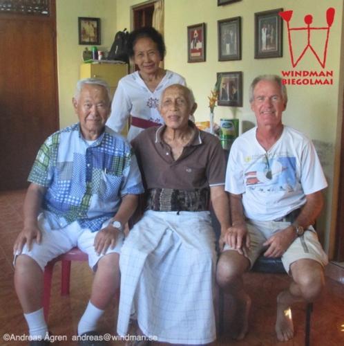 Visiting pak Nyoman and his wife