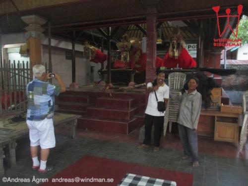 Three big Janggans at Banjar Kebonkuri Lukluk