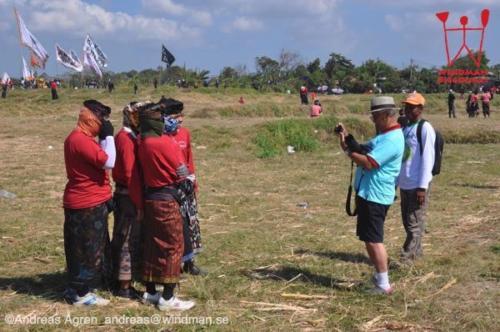 At Bali Kite Championships